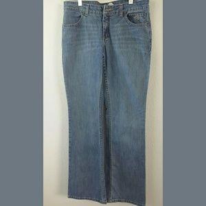 Harley Davidson Lt Wash Bootcut Jeans Sz 8